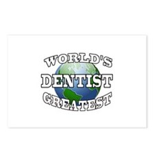 WORLD'S GREATEST DENTIST Postcards (Package of 8)