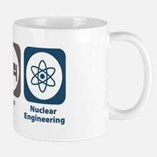 Eat Sleep Nuclear Engineering Mug