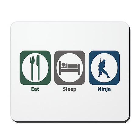 Eat Sleep Ninja Mousepad