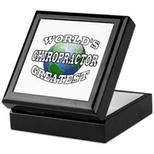 WORLD'S GREATEST CHIROPRACTOR Keepsake Box