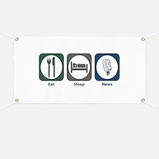 Eat Sleep News Banner