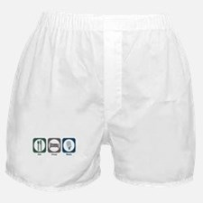 Eat Sleep News Boxer Shorts