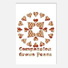 Compassion Grows Peace Postcards (Package of 8)
