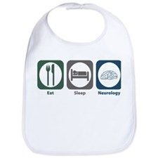 Eat Sleep Neurology Bib