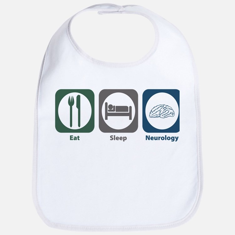 Eat Sleep Neurology Bib