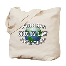 WORLD'S GREATEST MOM-IN-LAW Tote Bag