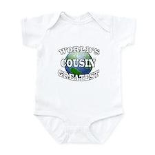 WORLD'S GREATEST COUSIN Infant Bodysuit