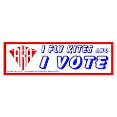 Voting Kiter sticker