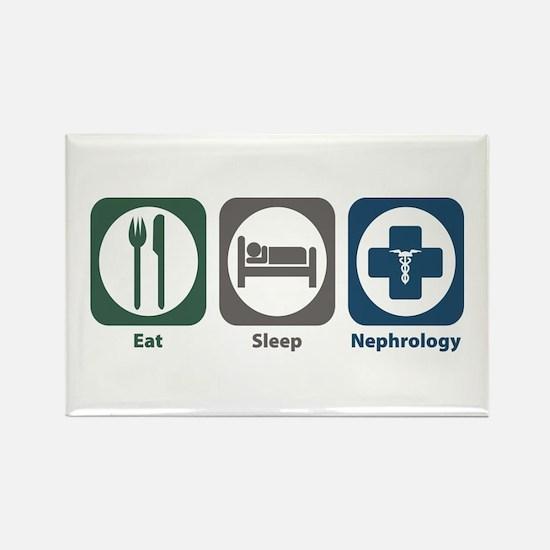Eat Sleep Nephrology Rectangle Magnet