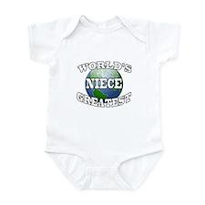 WORLD'S GREATEST NIECE Infant Bodysuit