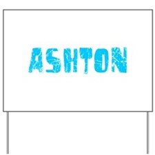 Ashton Faded (Blue) Yard Sign