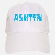 Ashtyn Faded (Blue) Baseball Baseball Cap