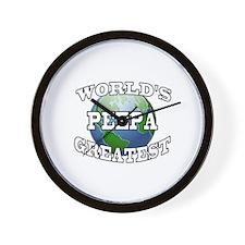 WORLD'S GREATEST PEEPA Wall Clock