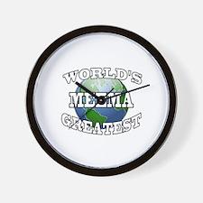 WORLD'S GREATEST MEEMA Wall Clock