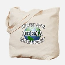 WORLD'S GREATEST MEEMA Tote Bag