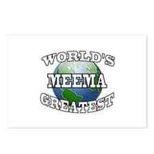 WORLD'S GREATEST MEEMA Postcards (Package of 8)