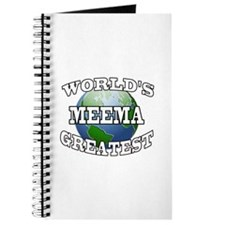 WORLD'S GREATEST MEEMA Journal