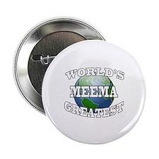 """WORLD'S GREATEST MEEMA 2.25"""" Button"""