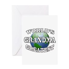 WORLD'S GREATEST GRANDMA Greeting Card