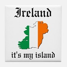 Ireland Island Tile Coaster