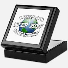 WORLD'S GREATEST STEP MOM Keepsake Box