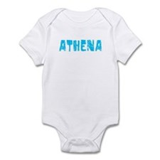 Athena Faded (Blue) Infant Bodysuit