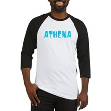 Athena Faded (Blue) Baseball Jersey