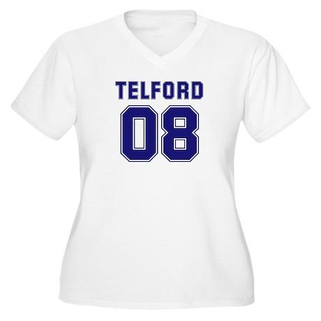 Telford 08 Women's Plus Size V-Neck T-Shirt