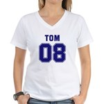 Tom 08 Women's V-Neck T-Shirt