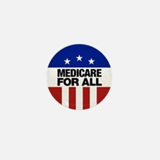 Medicare For All Mini Button (10 Pack)