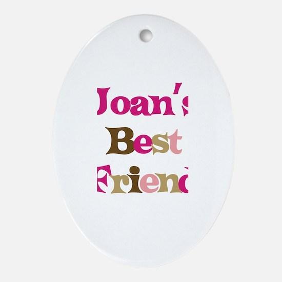 Joan's Best Friend Oval Ornament