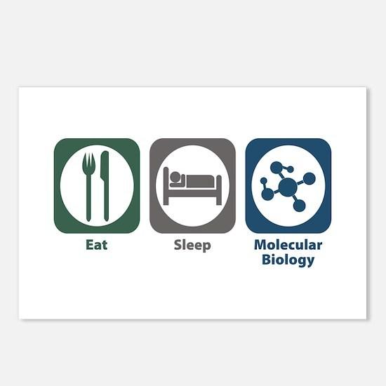 Eat Sleep Molecular Biology Postcards (Package of