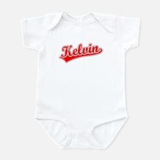 Retro Kelvin (Red) Infant Bodysuit