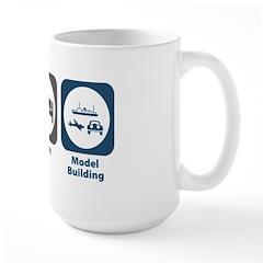 Eat Sleep Model Building Mug