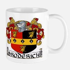 Broderick Coat of Arms Mug