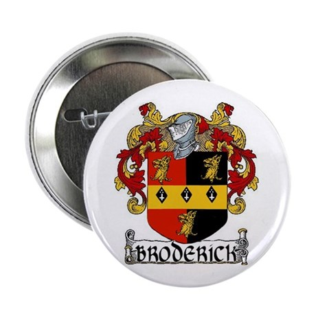 "Broderick Coat of Arms 2.25"" Button (10 pack)"