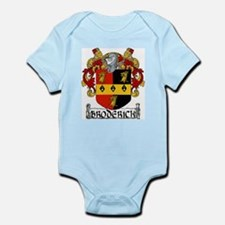 Broderick Coat of Arms Infant Bodysuit