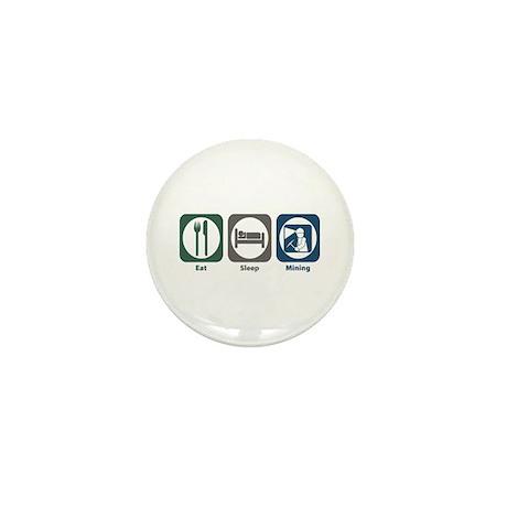 Eat Sleep Mining Mini Button (10 pack)