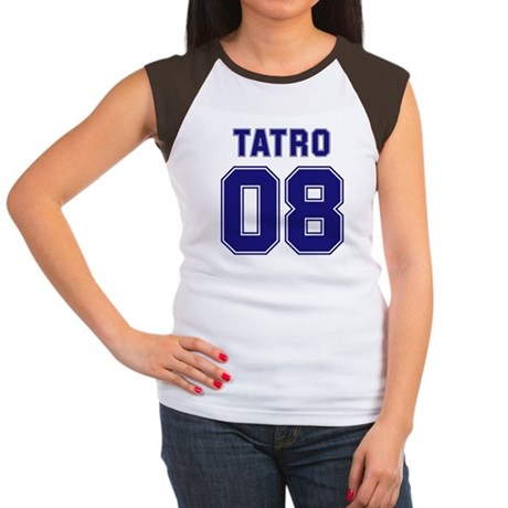 Tatro 08 Women's Cap Sleeve T-Shirt