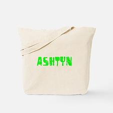 Ashtyn Faded (Green) Tote Bag