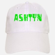 Ashtyn Faded (Green) Baseball Baseball Cap