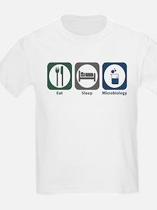 Eat Sleep Microbiology T-Shirt