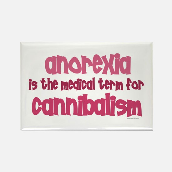 Medical Term 1.4 (Anorexia) Rectangle Magnet