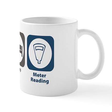 Eat Sleep Meter Reading Mug