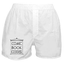 Comic Book Goddess Boxer Shorts