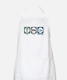 Eat Sleep Meteorology BBQ Apron