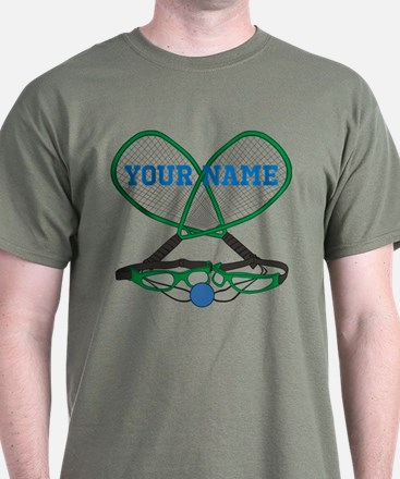 Personalized Racquetball T-Shirt