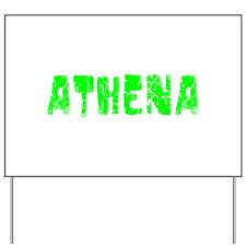 Athena Faded (Green) Yard Sign