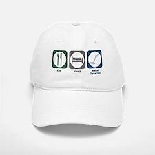 Eat Sleep Metal Detector Baseball Baseball Cap