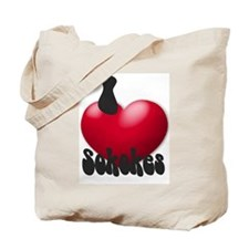 """I Love Sokokes!"" Tote Bag"